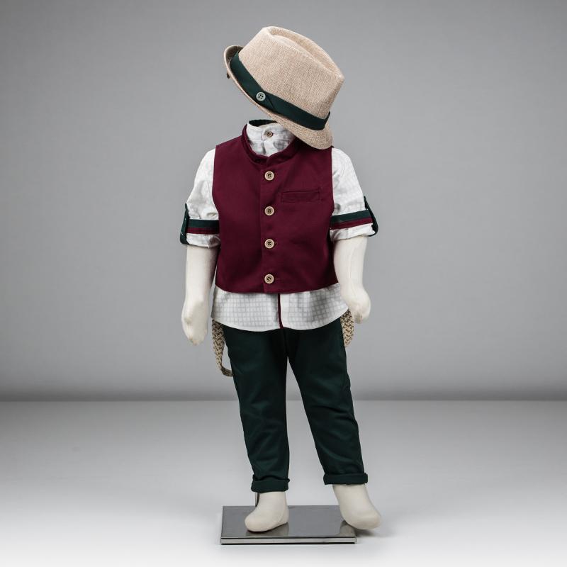 Βαπτιστικό ρούχο για αγόρι που αποτελείται από γιλέκο fd43d949f2e